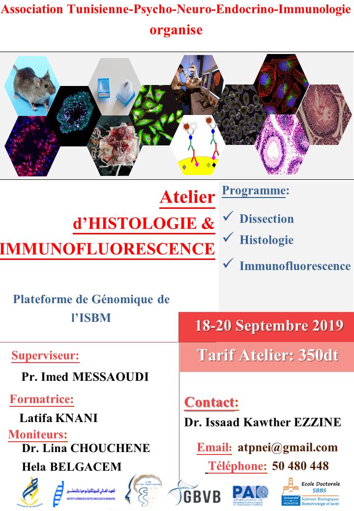 Septembre 2019: le mois des Formations organisées par L'association Tunisienne de Psycho-Neuro-Endocrino-Immunologie